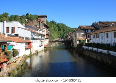 In the heart of the Pyrenees, the village of Saint-Jean Pied de port