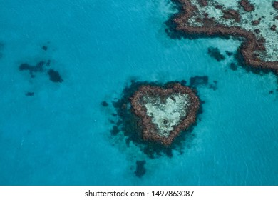 Heart Reef at the Great Barrier Reef