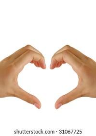 Heart Shape by Hands
