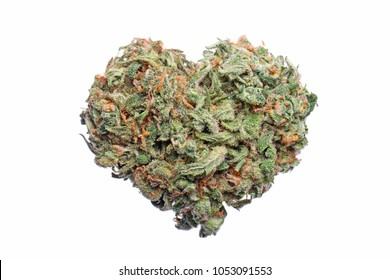 Heart Shape Cannabis Flower