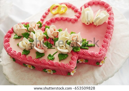 Heart Shaped Cake My Own Design