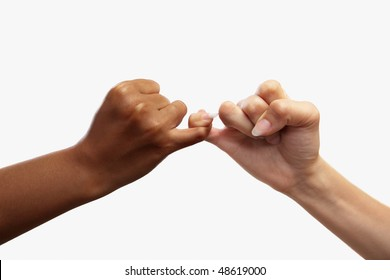 Heart shaped hand gesture, usual gesture in several countries to have a deal