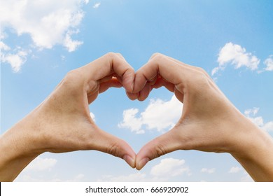Heart shaped symbolizes love., compassion and friendship