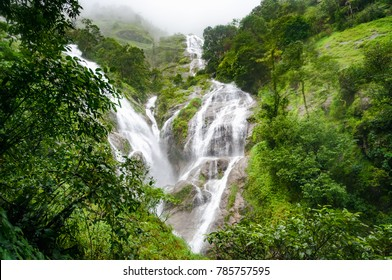 Heart Shaped Waterfall at Tak, Thailand