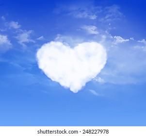 Heart. Sky. Cloud.