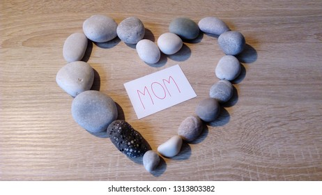 Heart of Stones for my Mom