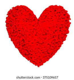 Heart from twenty five thousands hearts