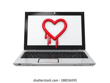 Heartbleed Bug in Laptop