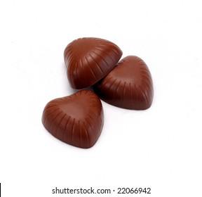 hearth shape chocolate