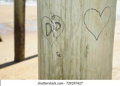 Hearts At The Beach