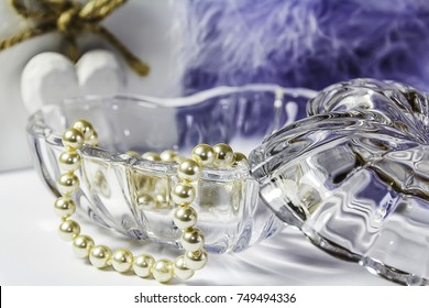 Hearts Still Life with Pearls