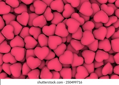 Hearts, Valentines day background