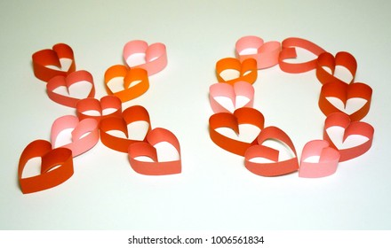 hearts for Valentine's Day holiday