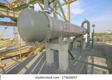 Heat exchanger in refiner plant