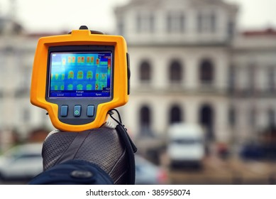 Heat Loss Inspection Infrared Thermal Camera