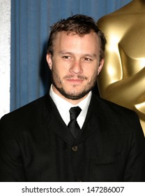 Heath Ledger  Oscar Nominee Luncheon Beverly Hilton Hotel February 13, 2006