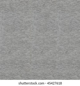Heather gray sweatshirt fabric