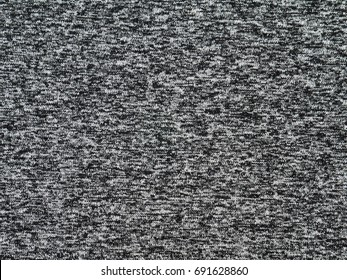 Heather grey polyester sportwear knitted fabric texture