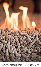 Heathing - renewable energy from wooden pellets
