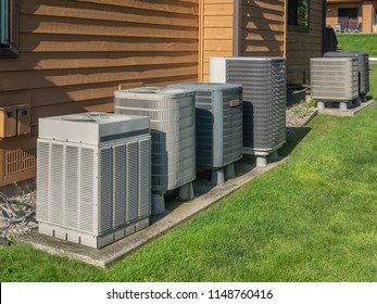 Heating and air conditioning inverter used to heat and cool condos