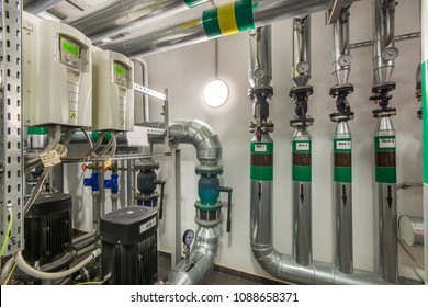 Heating circulator pumps in commercial building services, industrial processes and water supply