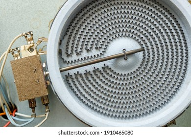 the heating element of the electric stove is not included. disassembled part of the ceramic electric cooker