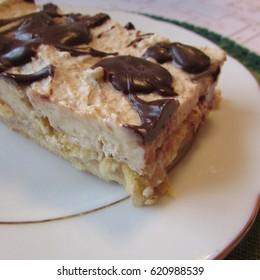 heaven im mouth or niebo w g?bie, famous polish, torte cake, - Shutterstock ID 620988539