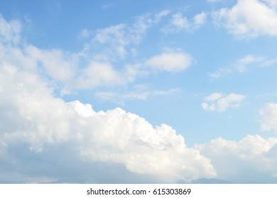 Heaven like cloudy background