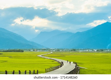 Heaven Road, Landscape of Chishang, Taitung