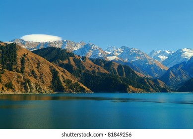 Heavenly Lake, Xinjiang, China