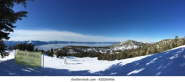 Heavenly Tache mountain top view