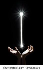 Heaven's beam of light