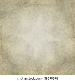 Heavily distressed subtle collage background in natural brown tones, with paper grain texture.