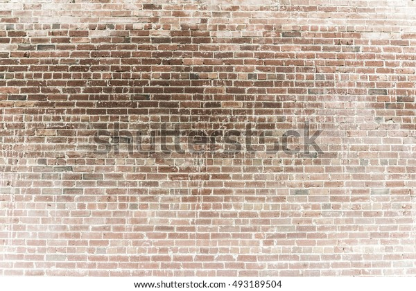Heavily Powdered Rustic Brick Wall