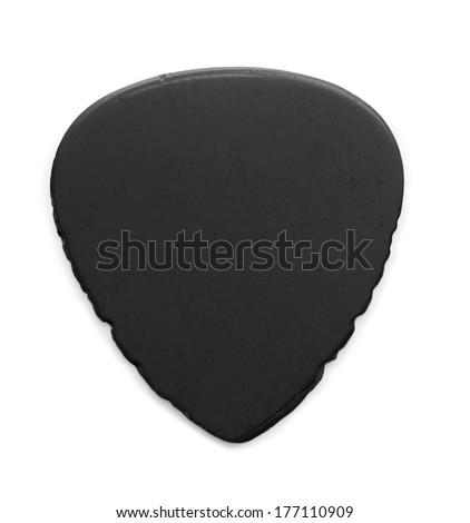 3922830dea02 Heavily Worn Used Black Guitar Pick Stock Photo (Edit Now) 177110909 ...