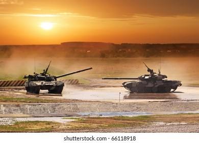 Heavy armor in the field of battle