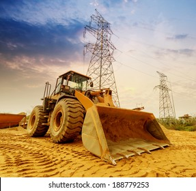 Earth Moving Equipment Images Stock Photos Vectors Shutterstock