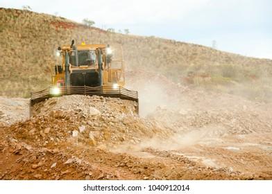 Heavy Bulldozer Earthworks