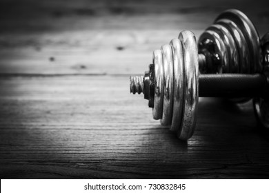 Heavy dumbbells for workout