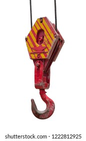 Heavy duty Crane pulley  Red Pulley used in construction sites
