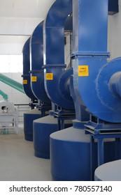 Heavy duty machines in a Factory