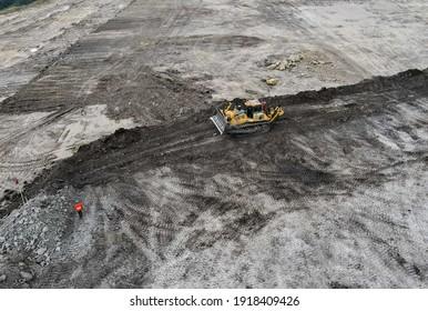 heavy equipment in coal mining industry