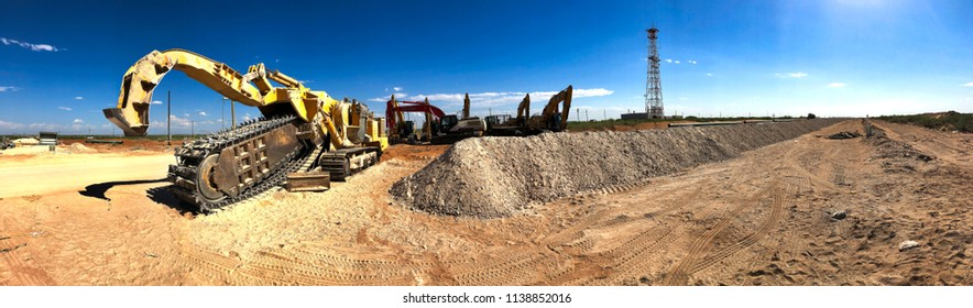 Heavy Equipment Trench Digger