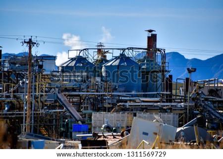 El Paso Junk Yards >> Heavy Industry Their Junk Yard El Stock Photo Edit Now 1311569729