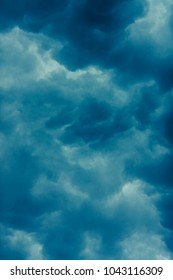 heavy massive stormy omnius clouds with no sunlight
