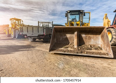 Heavy rental machinery for construction, essential and necessary