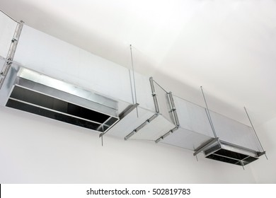 heavy ventilation ducts for air distribution