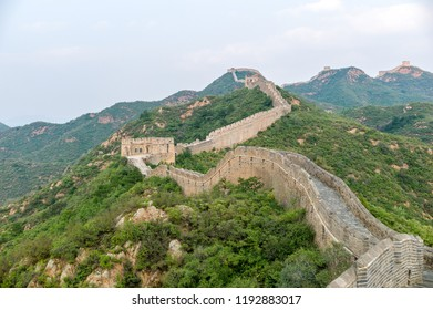 Hebei Chengde Jinshanling Great Wall Beacon Tower Summer Scenery