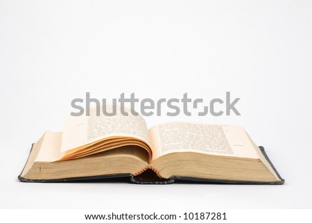 Hebrew Bible Book Isolated Stock Photo (Edit Now) 10187281