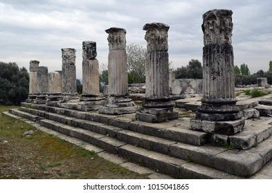 Hecate Temple of the ancient centre of worship of the goddess Hecate in Lagina was built in the days of Ancient Rome.